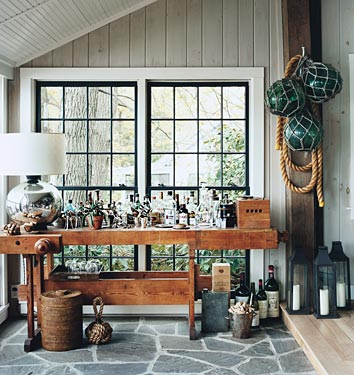 domino-tour-thom-filicia-cabin-bar-workmans-table