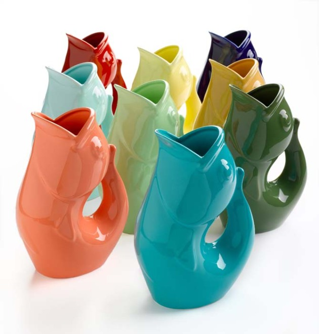 GurglePot Lovely Koi Pitcher from delight dot com