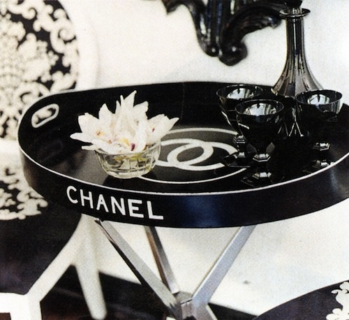 chanel-serving-tray-via Ilovelolliblog