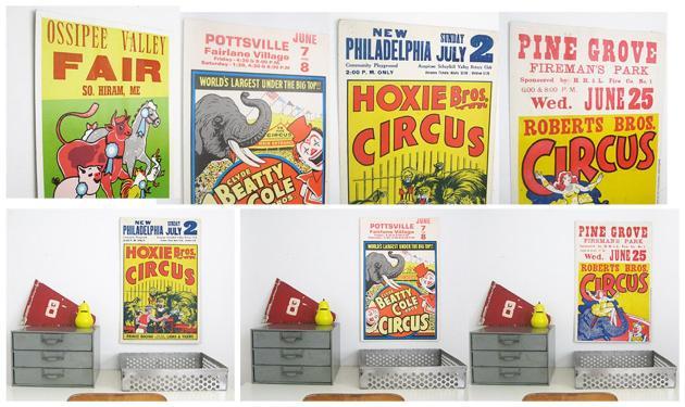 Circus Posters_ThreePotatoFour
