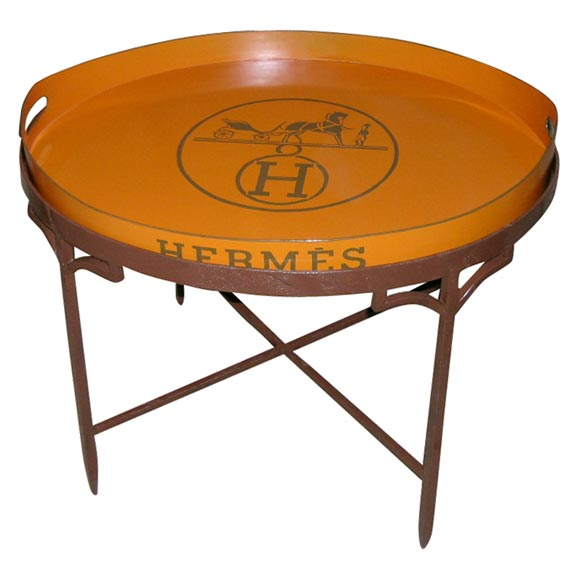 hermes tray table