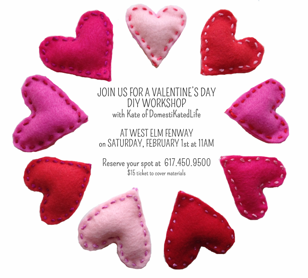 West Elm Valentines Day Event