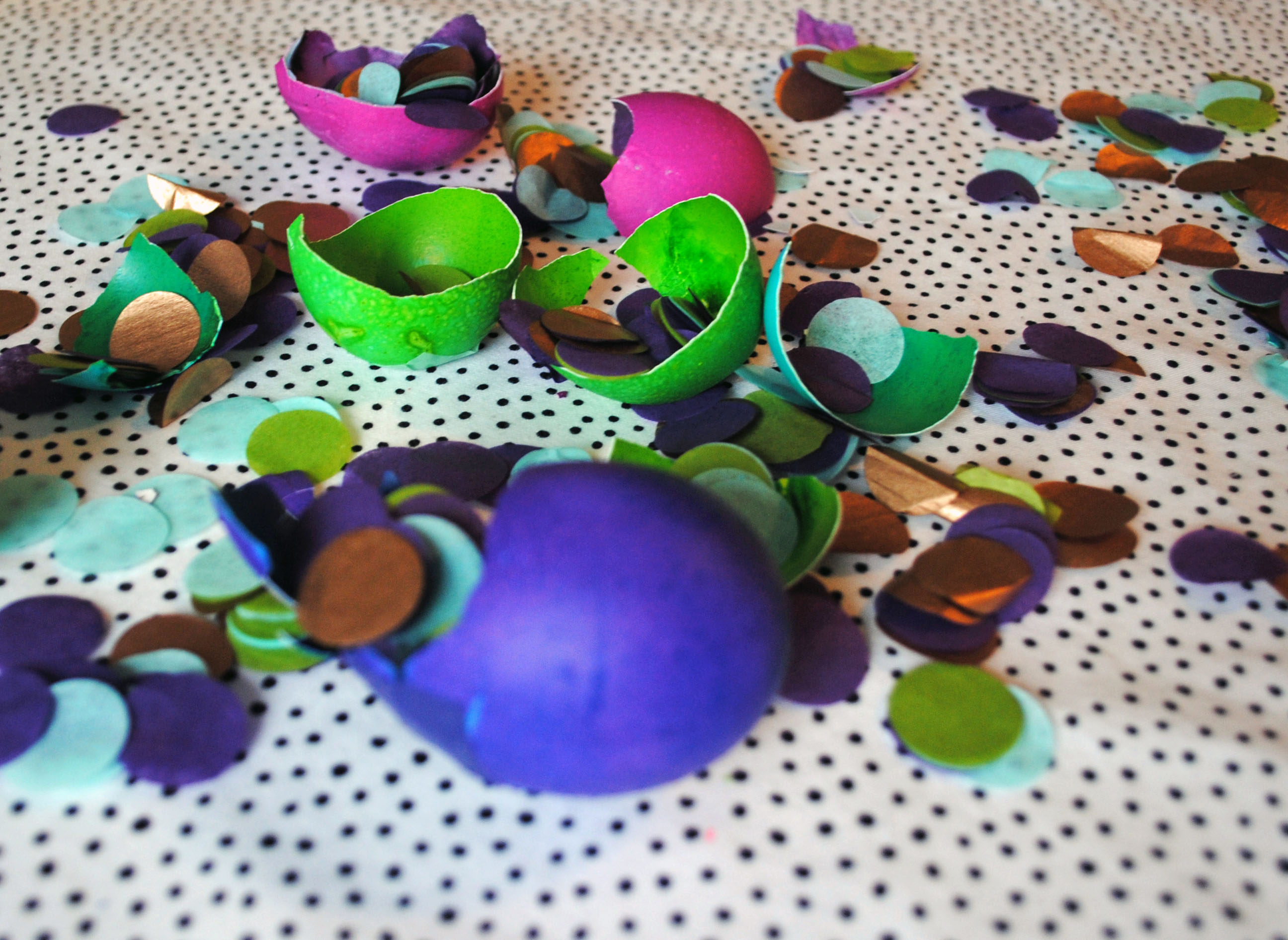 Confetti Easter Egg 6
