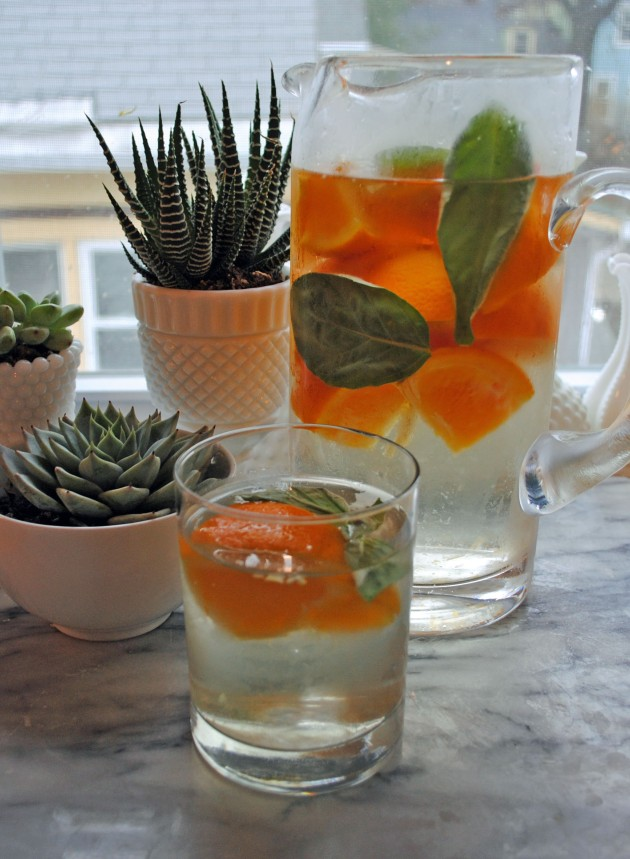 Orange Basil Water