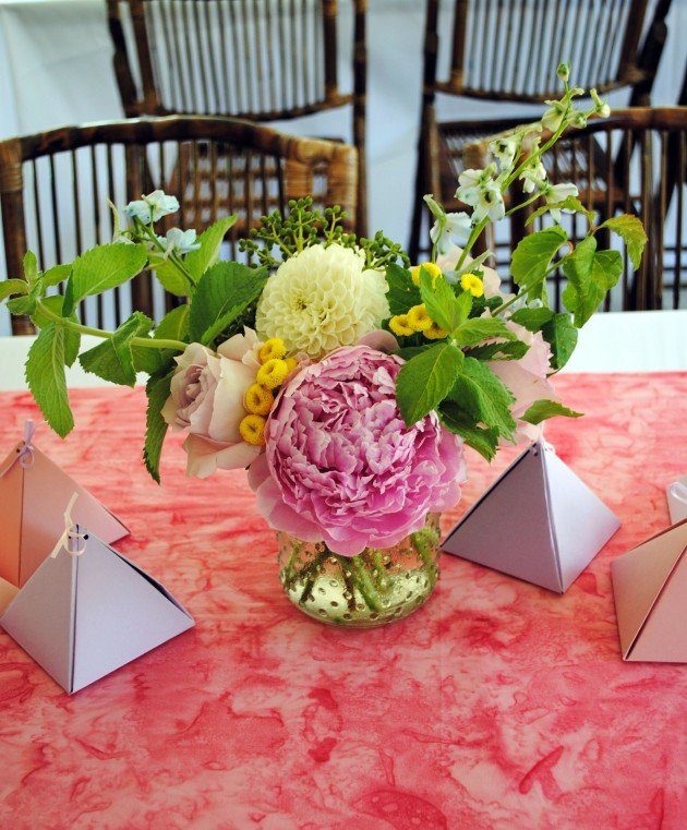 Modern Geometric Bridal Shower 6