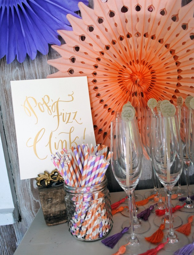 Modern Geometric Bridal Shower 8