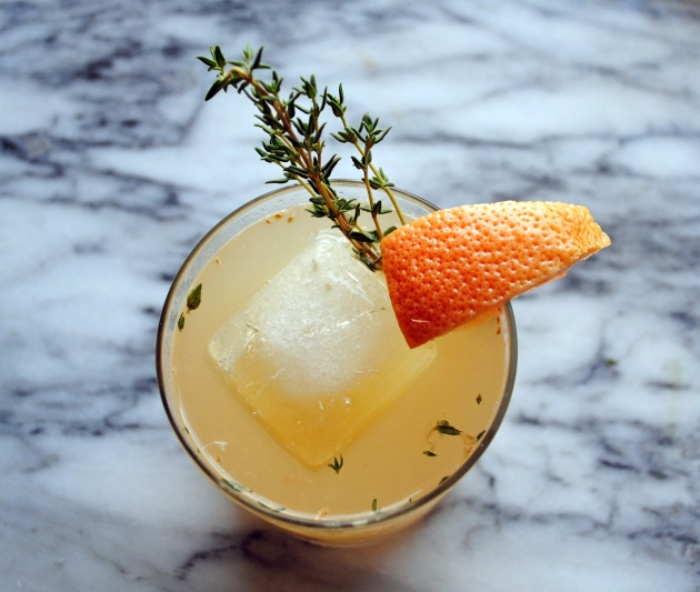 Thyme Grapefruit Punch