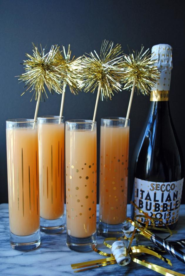 Grapefruit Sparkler Cocktail 1